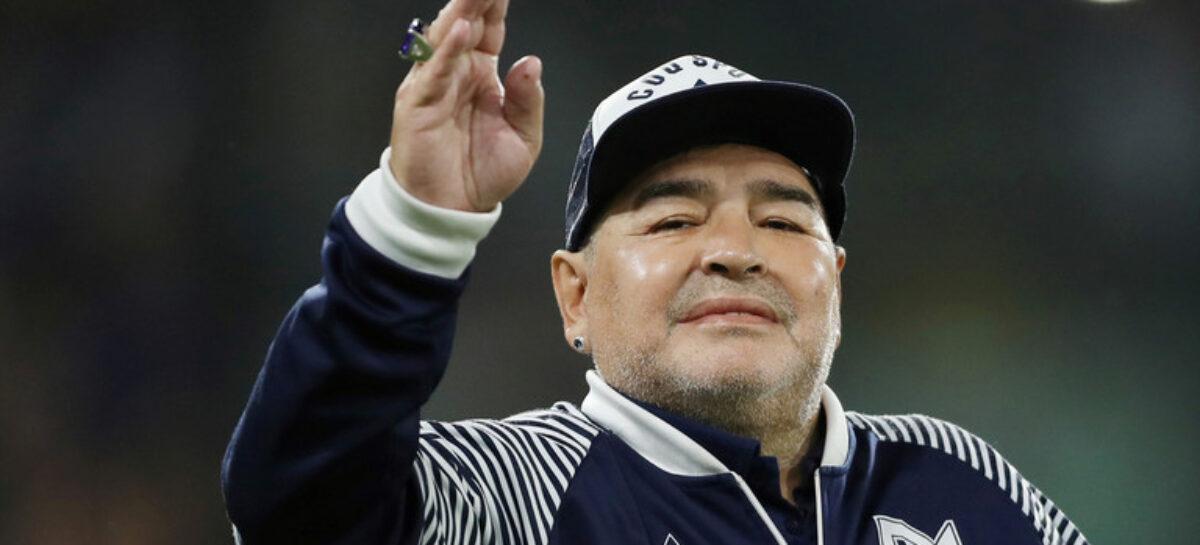Argentina football Legend, Maradona dies @60