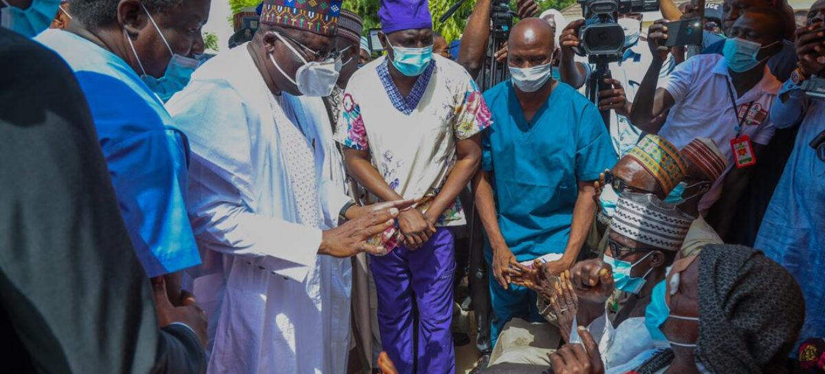 Lawan flags off 2020 free medical outreach for thousands in Yobe