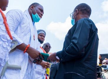 Return to God to rebuild self, society, Okowa charges Nigerians