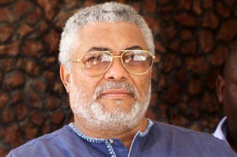 Jerry John Rawlings of Ghana is dead