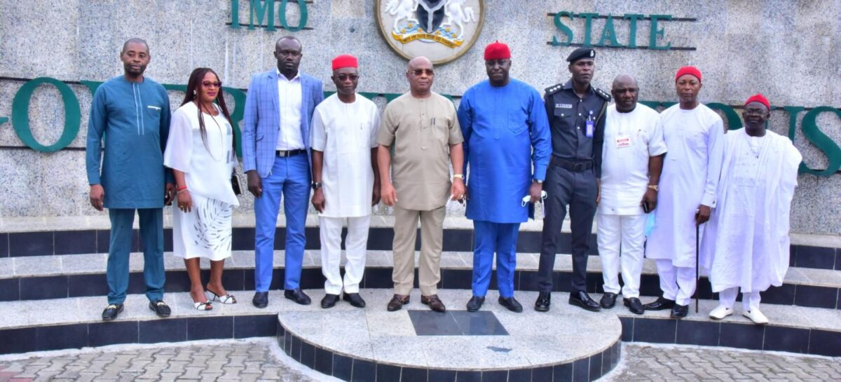 Uzodimma inaugurates interim management committee on ITC, urges members to recover assests