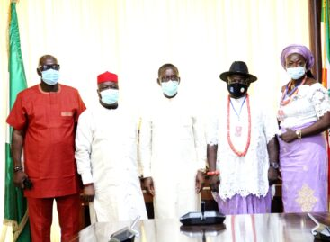 Execute people oriented projects, Okowa charges DESOPADEC