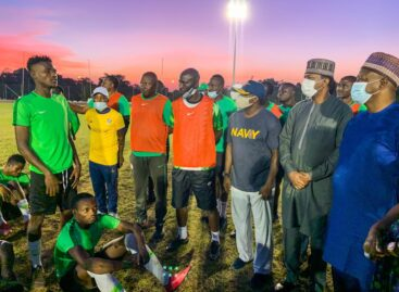 Minister  charges Flying Eagles to Win WAFU Cup