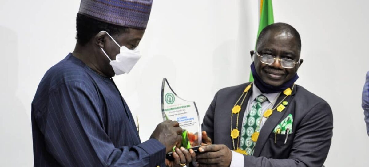 NIGERIAN MEDICAL ASSOCIATION SCORE GOVERNOR LALONG HIGH ON HEALTHCARE