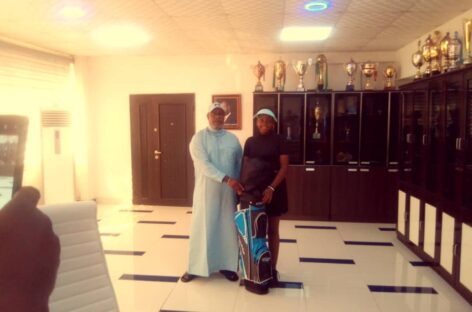 Okowa hands automatic employment to golf sensation, Chinwe Obuaya
