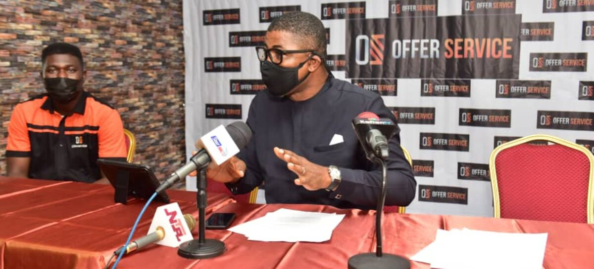 OFFERSERVICE targets 5M users, as e-commerce app unveils in Lagos