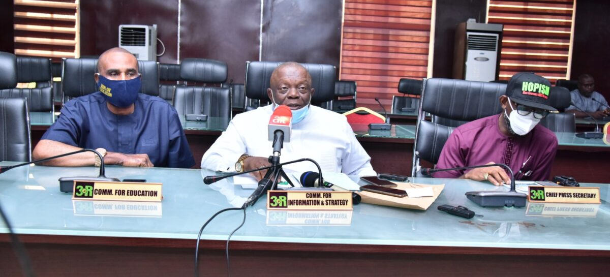 Imo State: Government to go Tough on Illegal Revenue Collectors, COVID-19 Protocol Defaulters