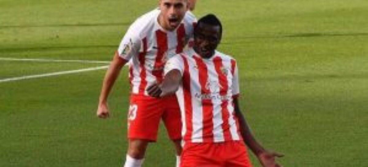 Sadiq Umar reveals his secrete desire for his Spanish team, Almeria FC this season