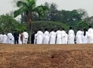 Lagos gov, other dignitaries absent as Tony Momoh laid to rest at Grail Land