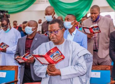 """""""Nigeria will overcome its challenges"""", Lalong reaffirms"""