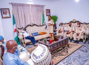 GOVERNOR LALONG COMMENDS IMMIGRATION SERVICE FOR PARTNERSHIP IN SECURITY