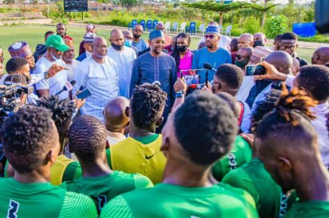 Soon, Eagles won't play in Asaba, Benin, Akwa Ibom again- Minister