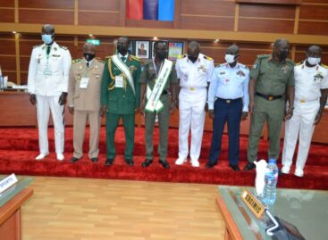 Gen. Irabor conferred as Grand patron of OSMAN, named chief host of SAHEL military Games