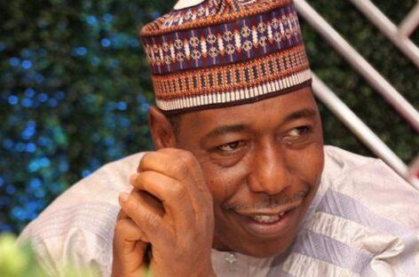 Borno IGR up by 24 per cent – Governor Zulum reveals
