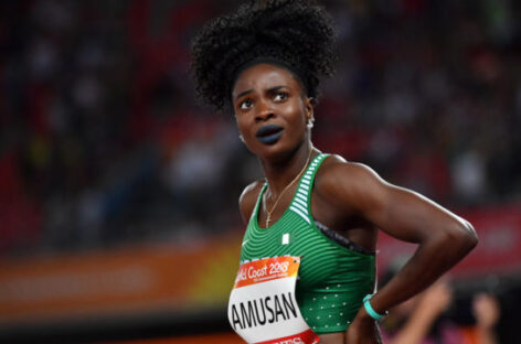 Amusan narrowly misses out on women's 100m hurdles medal