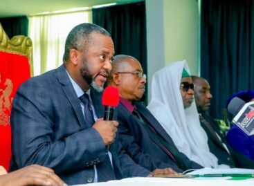 Gov. Bello inaugurates new Kogi CJ