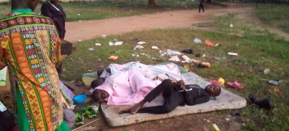 NYG: Athletes facing tough time in Ilorin, sleeping under trees (see pictures)
