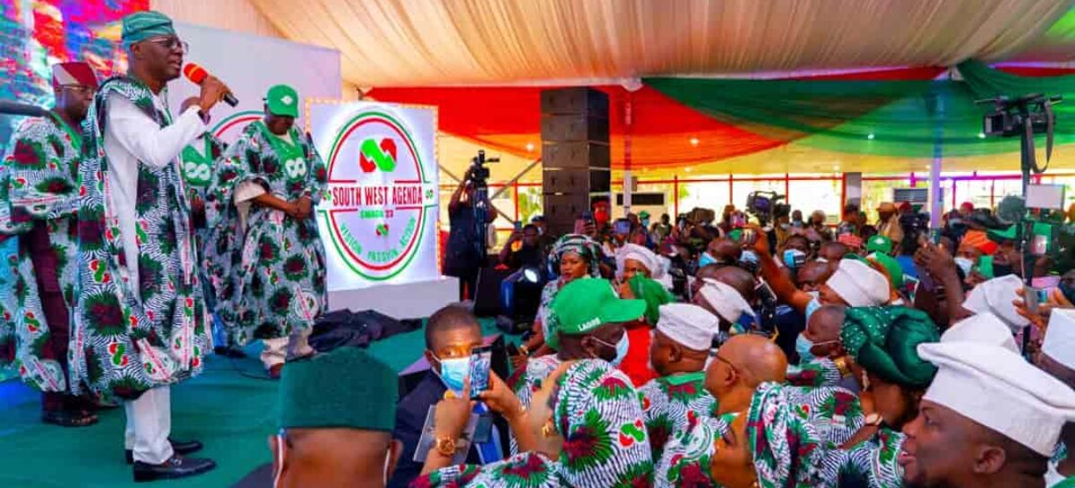 Sanwo-Olu flags off SWAGA '23 in Lagos, drums support for pro-Tinubu movement
