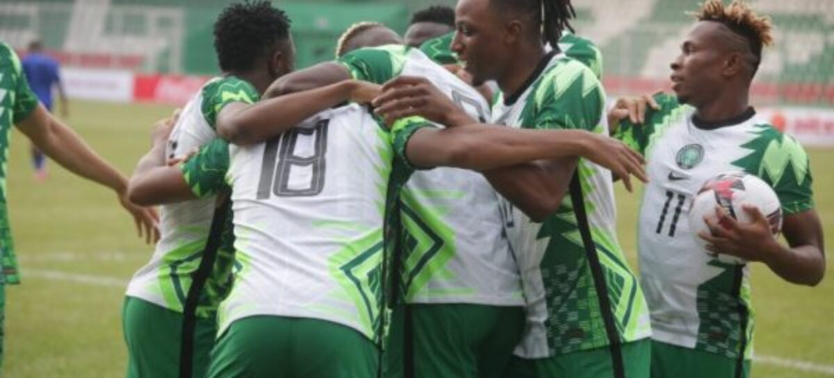 2022 WCQ: Rohr's Eagles bounce back, beat CAR 2-0 in Younde
