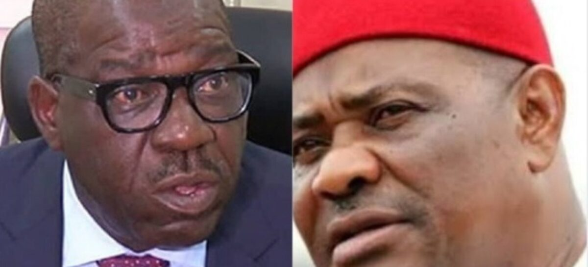 Why Southern PDP Bigwigs Are At War Over Presidential Ticket As Wike & Obaseki's Interests Clash